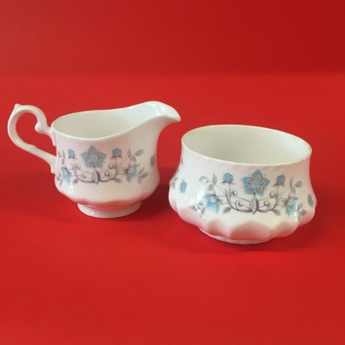 Mayfair Pottery | Bone China Creamer and Open Sugar